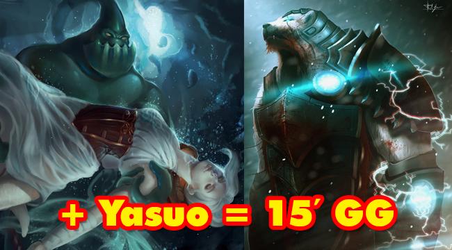 """TOP 5 vị tướng LMHT đi rừng cực mạnh khi kết hợp cùng """"đấng"""" Yasuo"""