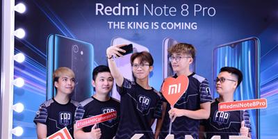 Xiaomi công bố dòng điện thoại Redmi Note 8 chiến game siêu đỉnh dành cho game thủ
