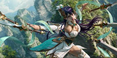 Xịt máu mũi với cosplay Irelia Thánh Kiếm đến từ Trung Quốc