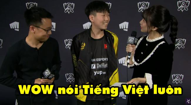 LMHT: Phỏng vấn GAM Kiaya với nữ MC Hàn nói tiếng Việt cực đáng yêu