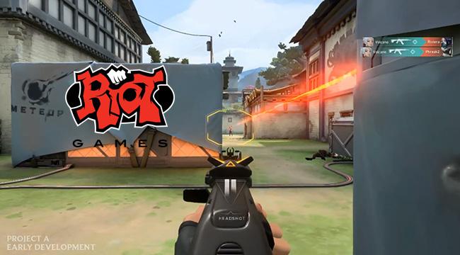 Riot Games thông báo về việc cho ra mắt game đấu súng góc nhìn thứ nhất Project A