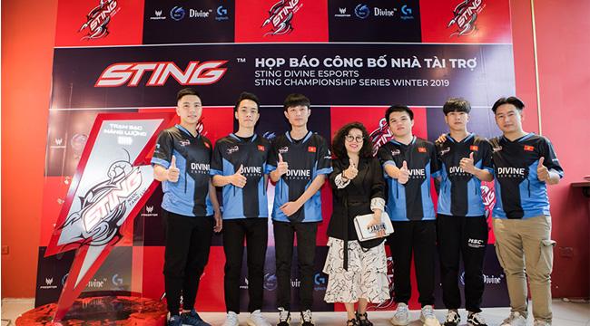 Nước uống quốc dân của game thủ Việt – Sting chính thức tài trợ cho Esports