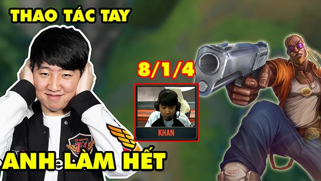LMHT: Cận cảnh thao tác tay Lucian trong tay SKT Khan khiến đối phương ngộp thở từ đầu đến cuối trận