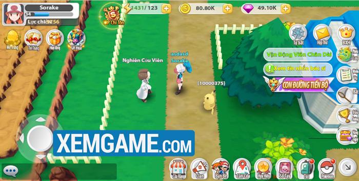 Poke Origin | XEMGAME.COM