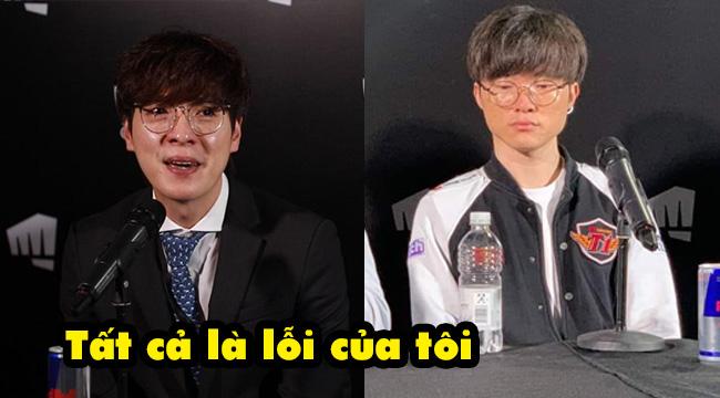 Liên Minh Huyền Thoại: HLV Kkoma bật khóc nức nở khi SKT thua trận, nhận hết trách nhiệm về mình
