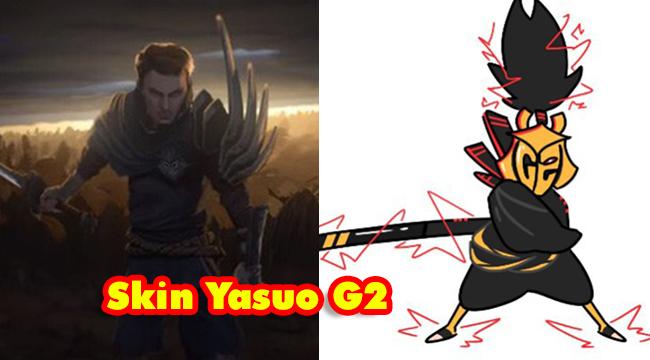 LMHT: Nếu G2 Esports vô địch CKTG 2019 thì 99% sẽ có trang phục Yasuo G2