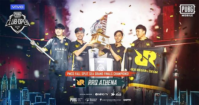 Kết quả PMCO SEA Regional Finals: RRQ Athena bảo vệ ngôi vương, Việt Nam dừng chân đáng tiếc