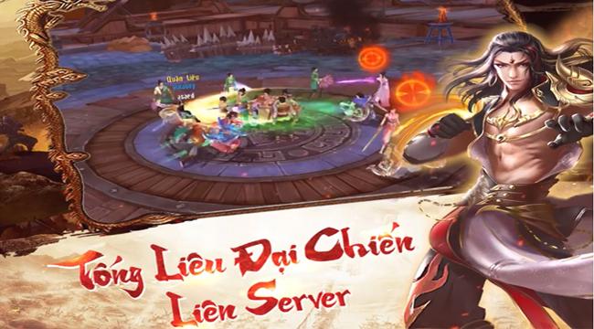 Tân Thiên Long Mobile VNG đẩy mạnh tính năng Tống Liêu Đại Chiến Liên Server