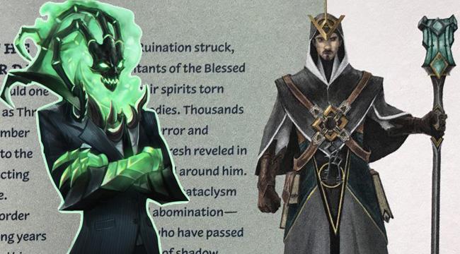 LMHT: Lần đầu tiên hình dạng người của Thresh được Riot Games hé lộ