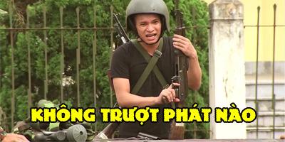 """Độ Mixi khiến thầy dạy quân sự ngỡ ngàng khi cầm AK bắn """"không trượt phát nào"""""""