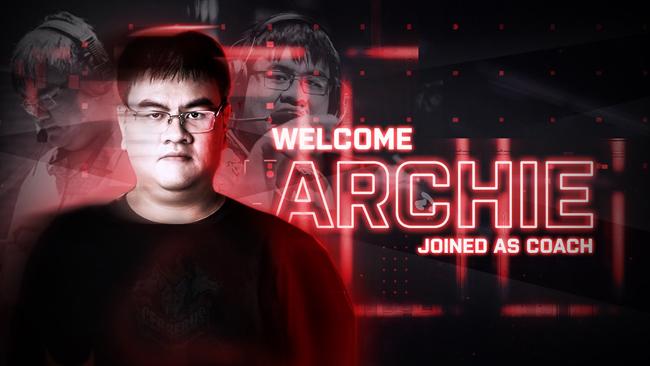 LMHT: Archie trở lại với vai trò huấn luyện viên của đội tuyển Cerberus Esports