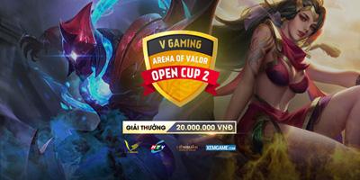 LIÊN QUÂN V GAMING AOV – OPEN CUP SERIES  2 tổng kết vòng bảng