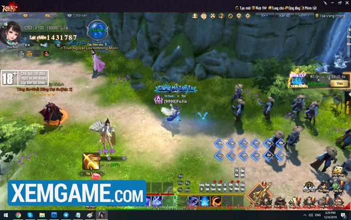Kiếm Vũ Giang Hồ 3D | XEMGAME.COM