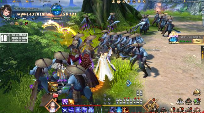 Kiếm Vũ Giang Hồ 3D mang đến vị nguyên bản nhất của dòng game kiếm hiệp PC