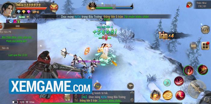 Tuyệt Thế Võ Lâm Mobile | XEMGAME.COM