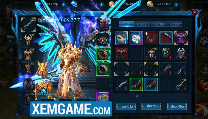 Chúa Nhẫn Mobile | XEMGAME.COM