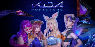 LMHT: Sang chảnh và thời thượng hết nấc với cosplay K/DA nóng bỏng