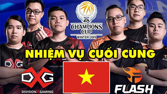 EACC Winter 2019: Giải vô địch Châu Á FIFA Online 4 – Nhiệm vụ cuối cùng của Bóng Đá Việt Nam