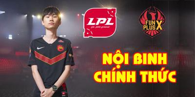 LMHT: Doinb trở thành nội binh chính thức đầu tiên của LPL