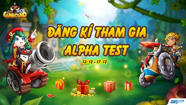 VTC Game chính thức mở trang đăng ký trải nghiệm bản Alpha Test New Gunbound