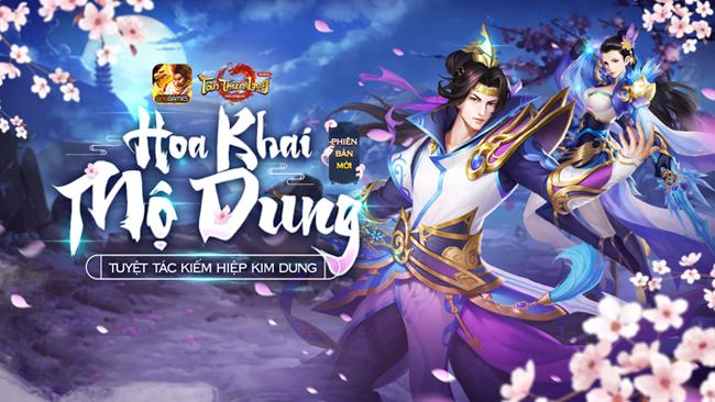 Tìm hiểu về môn phái mới Mộ Dung trong Tân Thiên Long Mobile VNG