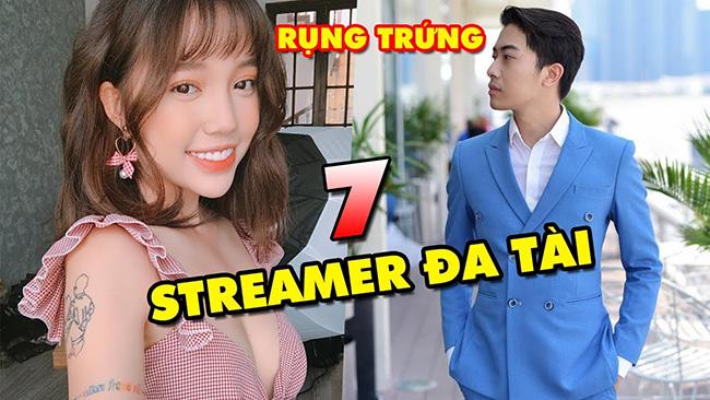 TOP 7 Streamer sở hữu nhiều tài lẻ nhất làng game Việt Nam hiện nay: Linh Ngọc Đàm, Cris Devil Gamer